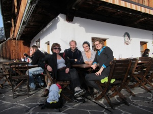 and the girls came too (Alpbach)