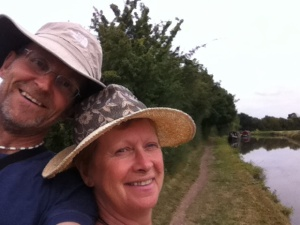 ignore the hats, admire the canal!
