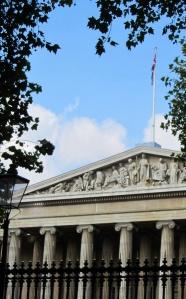 Eva lives just opposite the British Museum
