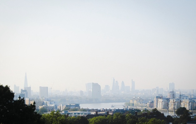 one view from the Greenwich Observatory