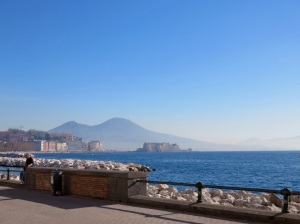 our last view of Naples