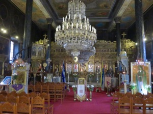 icons galore in a special church in Nafploi
