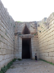 3,500 year old tombs...at Mycenae