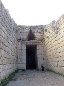 3,500 year old tombs...at Mycenae