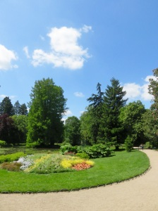 Tours' wonderful botanic gardens