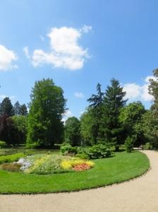 Tours' wonderful botanic gardens