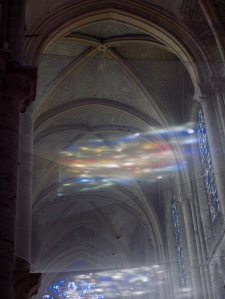 an illusion in a church in Blois