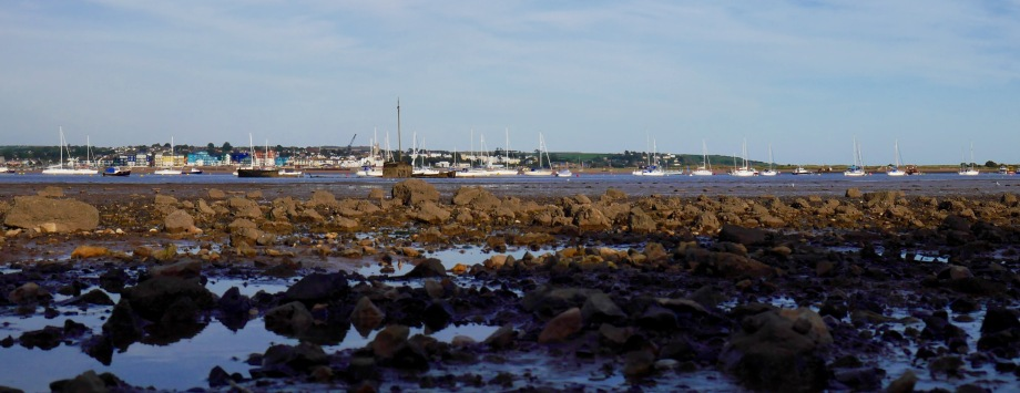 looking across to Exmouth