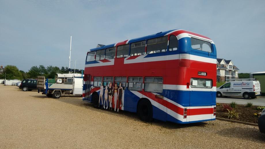 the original Spice Girls bus!